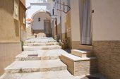 Alleyway. Minervino Murge. Puglia. Italy. — 图库照片