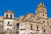Vue panoramique de Craco. Basilicate. Sud de l'Italie. — Photo