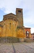 Collegiate Church of Castellarquato. Emilia Romagna. Italy. — Stock Photo