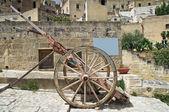 Alleyway. Sassi of Matera. Basilicata. Southern Italy. — Stock Photo
