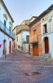 Alleyway. Bovino. Puglia. Italy. — Stock Photo