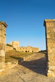 Château de Bovino. Puglia. Italie. — Photo