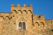 Castle of Bovino. Puglia. Italy. — Stock Photo