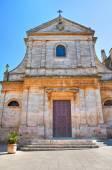 Church of St. Maria Addolorata. Locorotondo. Puglia. Italy. — Stock Photo