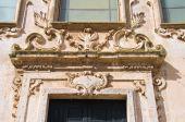 Church of St. Francesco. Matera. Basilicata. Italy. — Stock fotografie