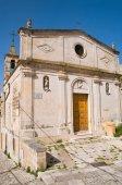St. Maria della Virtue Nuova Church. Matera. Basilicata. Italy. — Stock Photo
