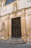Church of St. Chiara. Matera. Basilicata. Italy. — Stok fotoğraf