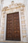 Basilika Kirche von St. Sepolcro. Barletta. Puglia. Italien. — Stockfoto
