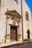Cathedral church of Barletta. Puglia. Southern Italy. — Stock Photo