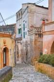 Alleyway. Sassi of Matera. Basilicata. Italy. — Stock Photo
