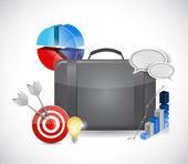 Seo analysis icon concept illustration design — Stock Photo