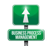 Business process management sign — Stock Photo