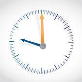 Clock illustration design — Stock Photo