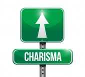 Charisma sign illustration design — Stock Photo