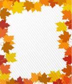 Leaves border illustration design — Stock Photo