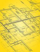 Blueprint illustration design — Stock Photo