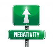 Negativity sign illustration design — Stock Photo