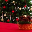 Christmas and New Year Gifts and Decoration. Abstract Blurred Bokeh Background. — Stock Video #59242569