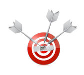 Bail target illustration design — Stock Photo