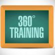 360 training board sign illustration — Stock Photo #60417773