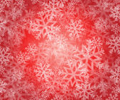Snowflake winter holiday illustration — Stock Photo