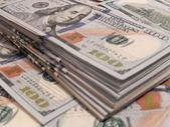 New one Hundred Dollar Bills — Stock Photo