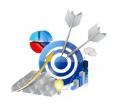 Silver bars economy business illustration design — Stock Photo