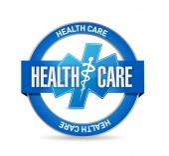 Zdravotní péče těsnění ilustrace — Stock fotografie