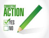 Corrective action concept illustration — Stock Photo