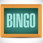Bingo board sign illustration design — Stock Photo #65197563