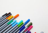 Closed markers for design works — Stock Photo