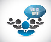 Mutual fund team message illustration — Stock Photo