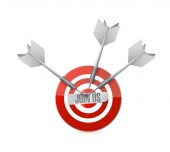 Join us target sign concept — Stock Photo