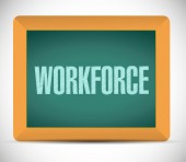Workforce board sign concept — Stock Photo