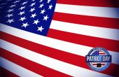 Patriot day flag sign illustration design graphic — Stock Photo