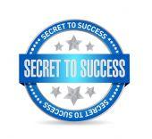 Secret to success seal sign concept — Stock Photo