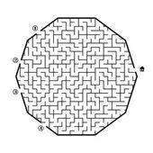 Maze — Stock Vector