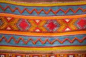 Moroccan Berber carpet background — Stock Photo