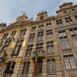 Ornate buildings of Grand Place, Brussels — Stock Photo #57545025