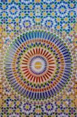 Mosaic wall showing the beauty of Islamic art — Stock Photo