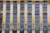 Ornate building of Grand Place in Brussels — Foto de Stock