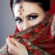 Indian beauty face — Stock Photo #59103703
