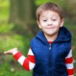 Little boy showing palm — Stock Photo #59105677