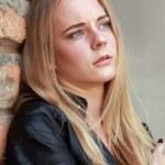 Sad teenage girl — Stock Photo #59105851
