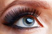 Beautiful eye with makeup — Stock Photo