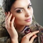 Indian woman face — Stock Photo #73904683