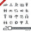Business Concepts Icon Set -- Basics — Stock Vector #67593061