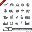 Industry and Logistics -- Basics — Vector de stock  #70590577