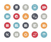 Network and Server Icons -- Classics Series — Stock Vector