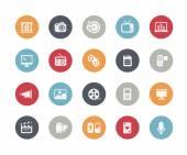 Multimedia Icons -- Classics Series — Stock Vector